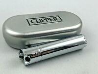Clipper Pfeifenfeuerzeug Chrome poliert Pfeife Feuerzeug Box (ovp)