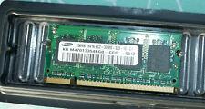 💾 SAMSUNG DDR-RAM 256 MB | PC2-3200S-333-10-C1 | KR M470T3354BG0-CCC