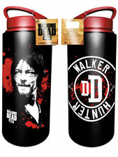 The Walking Dead Daryl Walker Hunter Aluminium Drink Water Bottle Outdoors Walki