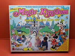 Vintage Colorforms Disney's Magic Kingdom Super Deluxe Playset~ Complete