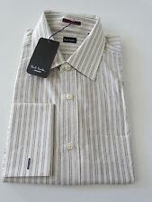 Paul Smith Clásico Rayas camisa de manga larga - Talla 15.5 / 39 - p2p 54.6cm