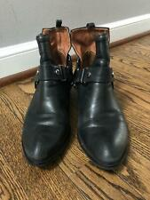 Jeffrey Campbell Musk Harness Ankle Boots in Black Size 7