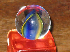 EXC COLORED HYBRID CAT EYE VINTAGE GLASS UNKNOWN MARBLE MARBLES