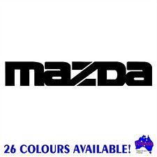 30cm MAZDA 3,6,Bravo,BT-50,CX-,RX-7,MX-5 car panel,body,window stickers decals!