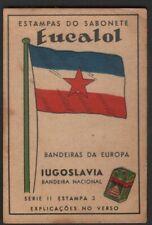 Flag of Yugoslavia c1949 Trade Advertising Card