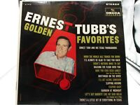 Ernest Tubb's Golden Favorites LP - Decca 74118 VG+ cover VG+