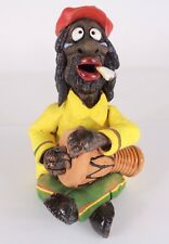 Räuchermännchen Clay Smoker Figure Smoke Dispenser Incense Burner Handwork Decor