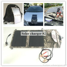 SOLAR  PORTABLE TRICKLE BATTERY CHARGER FOR CAR RV MARINE ATV 10W 12V SYSTEM