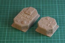 6mm sci-fi scenery City Block buildings X2 Exp GZG MT12
