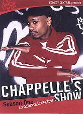 Chappelle's Show - Season 1 Uncensored (DVD, 2004, 2-Disc Set, Checkpoint)