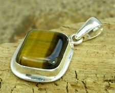 Lovely Sterling Silver & Tigers Eye Pendant EPD0807