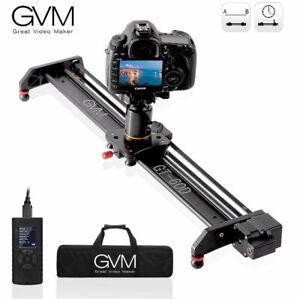 GVM Video Motorized Camera Slider Aluminum Rail Photography Time-lapse 23 inch