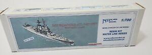 USS Roanoke CL-145 1957 NICO 1/700 US Navy Resin Model Kit New In Sealed Box