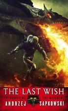NEW The Last Wish By Andrzej Sapkowski Paperback Free Shipping