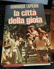la citta' della gioia-dominique lapierre-mondadori 1992-dedica autografa