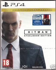 NEW HITMAN THE COMPLETE FIRST SEASON STEELBOOK EDITIN PS4 WITH 6 BONUS CONTRACTS