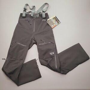 NEW Mountain Hardware Exposure 2 Gore-Tex Active Ski Pro Bib Pants Size S Long