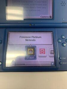 Pokemon -- Platinum Version (Nintendo DS, 2009) broken missing cover