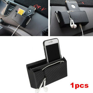 1x Car Universal Storage Pouch Air Outlet Phone Box Organizer Holder Accessory