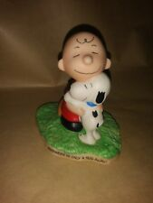 Peanuts Gallery Hugs Snoopy Charlie Brown Hallmark Qpc4007 Numbered Figurine