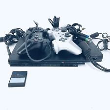 Sony PlayStation 2 Slim Black Console (SCPH-75001CB) PS2