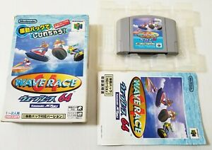 Nintendo 64 N64 Wave Race 64 Rumble Version Japan 0721A23