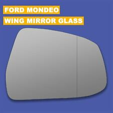 For Ford Mondeo wing mirror glass 07-14 Right Driver side Aspherical Blind Spot