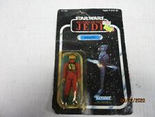 Star Wars Return Of The Jedi  B WING PILOT FIGURE 77 BACK CARD