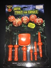 Pumpkin Party Tools For Ghouls Carving Kit