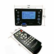 DC 12V digital LCD Lyric Show Bluetooth MP3 Decoder board Audio Player FM car