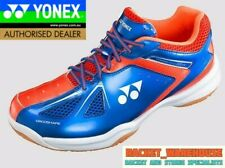 NEW YONEX POWER CUSHIONSHB35WEX BADMINTON SQUASH SHOE INDOOR BLUE/RED WIDE FIT