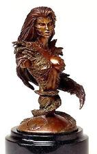 Witchblade Bronze Bust Statue Statue New  CS Moore Studios Top Cow  2006