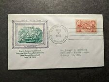 Sloop-of-War USS HARTFORD Naval Cover 1949 USCS Convention Cachet