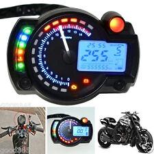 Display digitale LCD retroilluminato MOTO tachimetro contachilometri contagiri Moto
