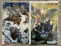 JUSTICE LEAGUE #55 SET OF COVERS A & B NM DC COMICS 2020