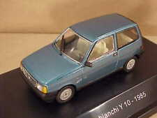 STARLINE #509121 1/43 Diecast 1985 Autobianchi Y 10 Coupe w/LHD, Teal Green Met