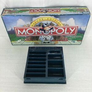 Bankers Box Deluxe Edition Monopoly 1995 Replacement Part Pieces