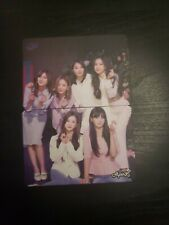 Apink YES! Magazine Official Photocard Set (Unofficial) With Lyris on the back