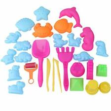 Inxens Sand Molds and Tools Kit Animal Mini Sand Castle Molds for Kids Set of 28