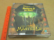 THE RIDDLE OF MASTER LU Ripley's Believe It Or Not PC GAME 1995 NEW AND SEALED