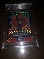 2019-20 Panini Mosaic LeBron James Jam Masters Silver Prizm SSP BGS 9 MINT