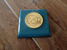 UNIVERSITY OF TENNESSEE 1794 - 1994 200TH ANNIVERSARY PAPERWEIGHT BY JOSTENS