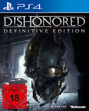 Dishonored Definitive Edition Neues PS4-Spiel