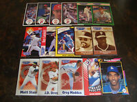 Starting Lineup---Baseball Cards---Lot Of 16---No Dupes---McCovey, Maddux, Etc.