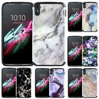 Marble Design Hybrid Case Cover for Alcatel One Touch Idol 3 (5.5 inch) IDOL 3