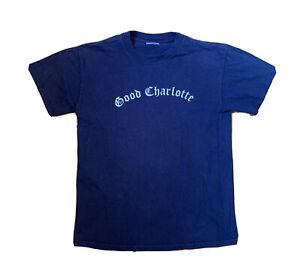 Vintage 2000s Good Charlotte Band on the east Coast We Ride T shirt size Medium