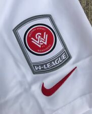 a W league Western sydney fc Players Shorts  Jacket  soccer football Shirt Nrl