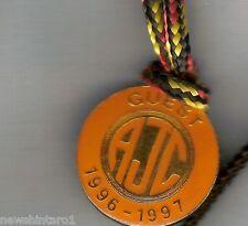 #D231.  AUSTRALIAN JOCKEY  CLUB  GUEST LAPEL  BADGE 1996-97 #2012