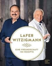 Eine Freundschaft - 100 Rezepte - Johann Lafer / Eckart Witzigmann DHL-Versand