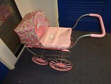 baby annabell coach built pram, with hood-matching cover +pillow